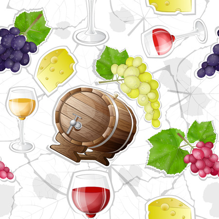 pattern of wine making  Vector