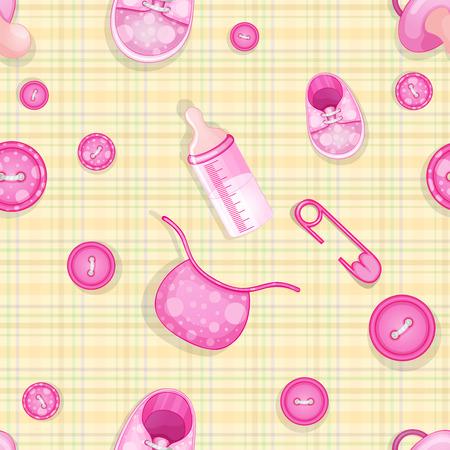 cute baby elements pattern