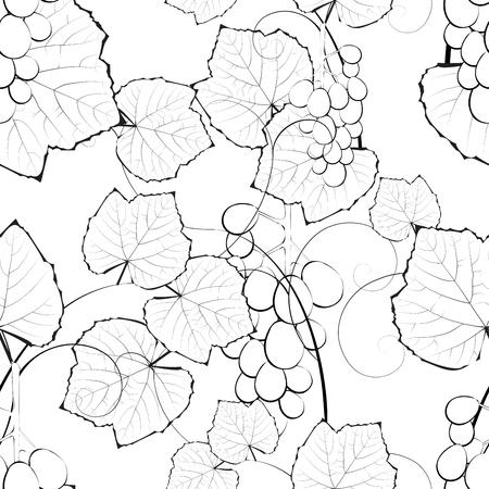 isabella: Vine seamless background