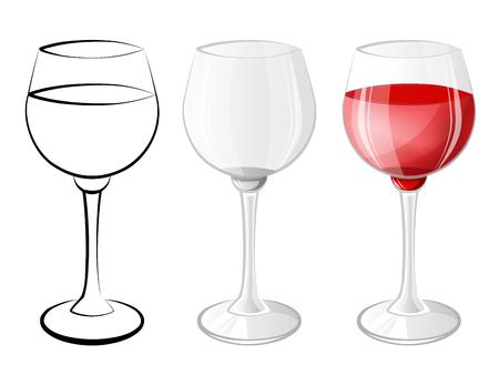 glassful: Wine glass Stock Photo