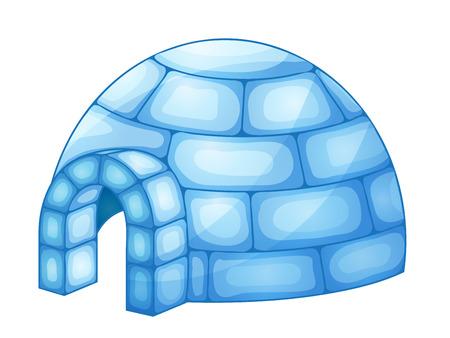 igloo: illustration of a igloo