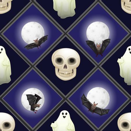 halloween pattern: Seamless Halloween pattern