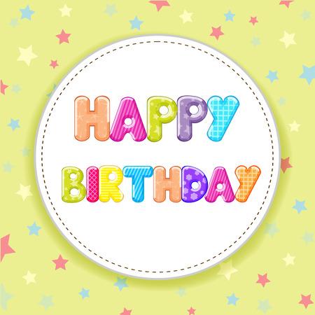 catchy: Happy Birthday