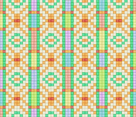 Illustration of ethnic seamless ornament Иллюстрация