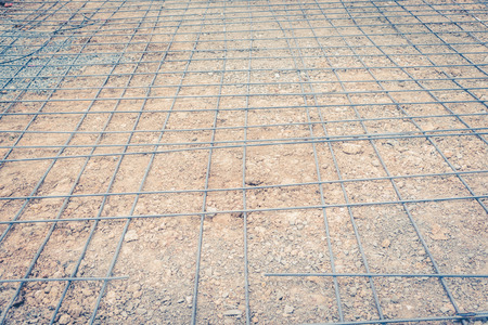reinforced: steel mesh used to make reinforced concrete ,vintage