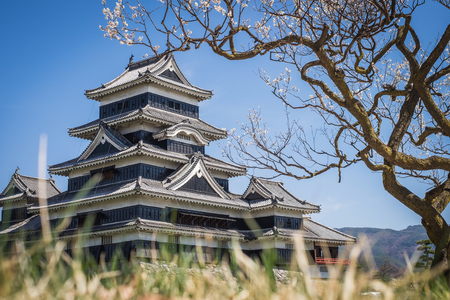 castle: Matsumoto Castle is one of the most complete and beautiful among Japans original castles