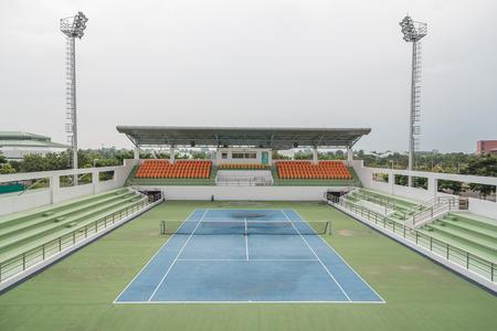Tennis Court at tennis club