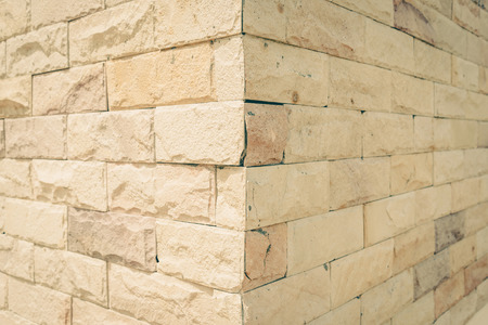 Decorative Brick Wall ,vintage Stock Photo, Picture And Royalty Free ...