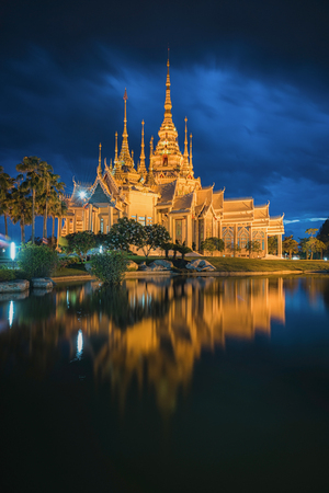 Wat Non Kum Temple in thailand
