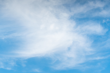 The vast blue sky and clouds sky. blue sky background with tiny clouds.