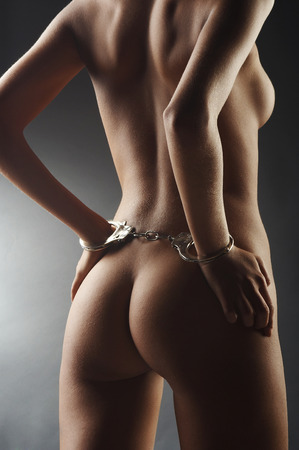 naked and bound photo