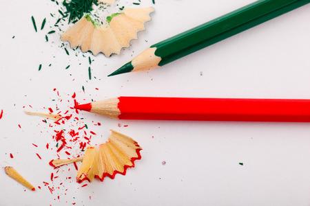 colour pencils: colour pencils