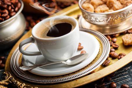 decaf: coffee