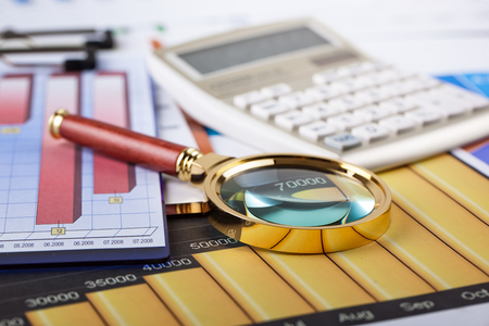 Business Objects in the office on the table Stock Photo
