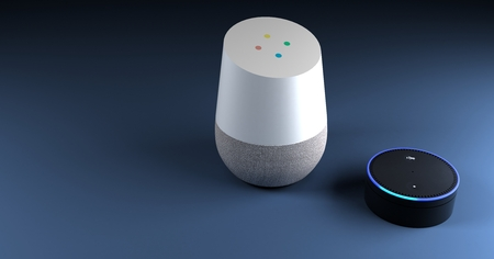 3d rendering of voice recognition system Standard-Bild