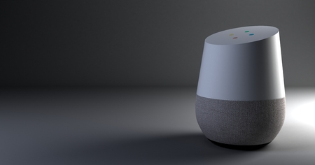 3d rendering of voice recognition system Stock fotó