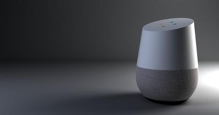 Representación 3D del sistema de reconocimiento de voz.