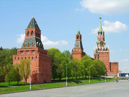kreml: Kremlin towers, Moscow, Russia