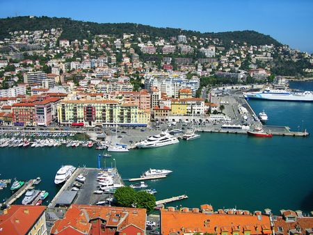 Port of Nice, Cote dAzur, France