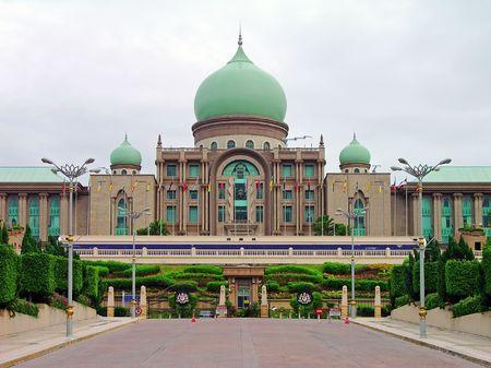 prime: Perdana Putra, the Malaysian Prime Ministers Office, Putrajaya