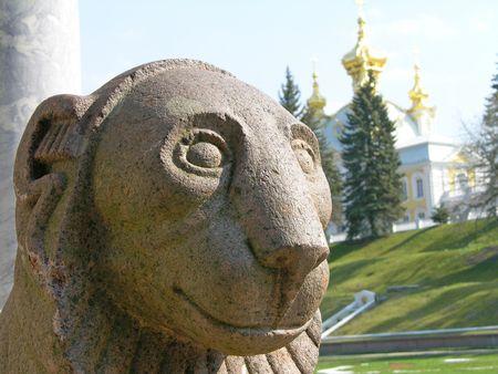 peterhof: Peterhof, Saint-Petersburg, Russia Stock Photo