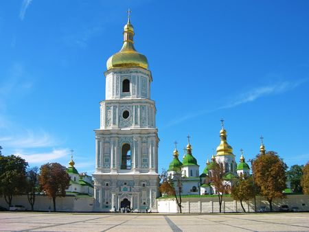 sobor: Saint Sophia (Sofievskiy) Cathedral, Kiev, Ukraine