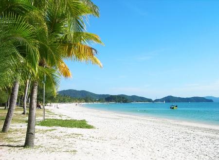 langkawi island: Cenang beach, Langkawi, Malaysia Stock Photo