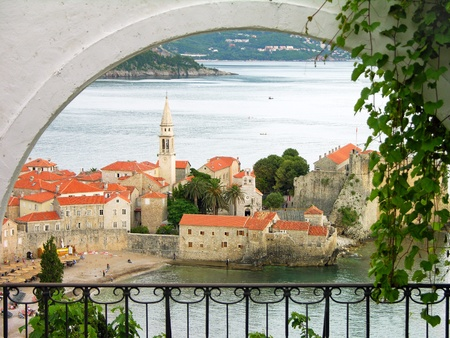 Budva old town, Montenegro photo