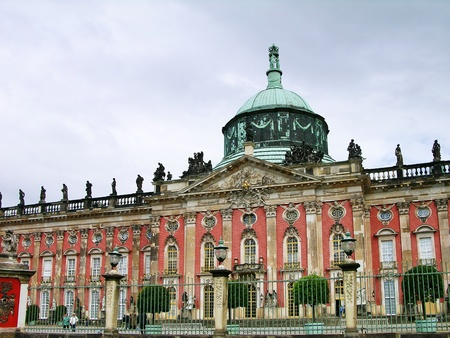New Palace in Sanssouci Park, Potsdam, Germany photo
