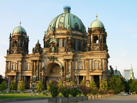 east berlin: Berlin Cathedral (Berliner Dom), Berlin, Germany Stock Photo