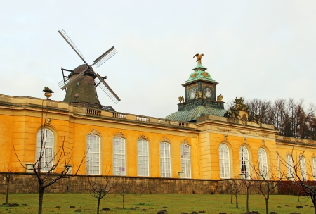 Picture Gallery in the park of Sanssouci palace, Potsdam, Germany Stock Photo - 13607858