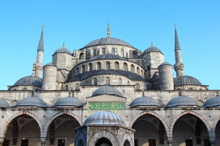 Sultan Ahmed Mosque (the Blue Mosque), Istanbul, Turkey Stock Photo - 14781935