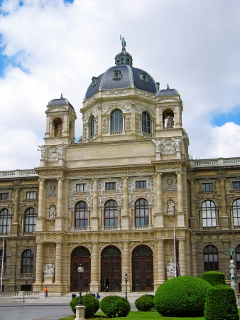 Museum of Art History (Kunsthistorisches Museum, also known as Museum of Fine Arts), Vienna, Austria Stock Photo - 15012680