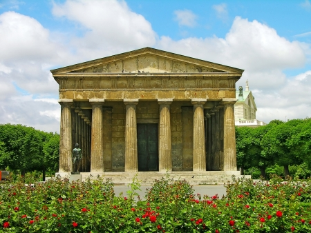 Theseus Temple in Volksgarten, Vienna, Austria Stock Photo - 15173865