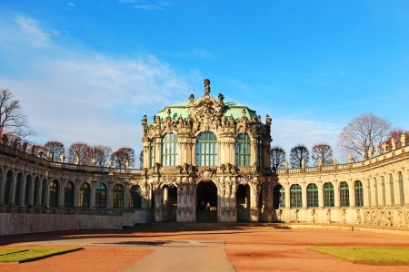 Zwinger Palace in Dresden (Dresdner Zwinger), Germany