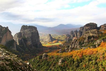 kalampaka: Meteora Rocks and Monasteries, Greece