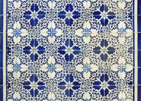 Traditional Portuguese azulejos tiles