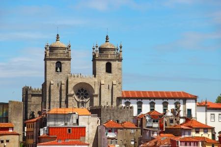 porto: Porto Cathedral  Se do Porto , Portugal  Stock Photo