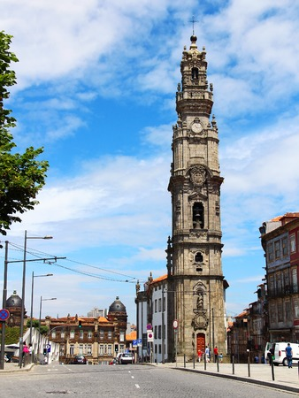 Clerigos church tower, Porto, Portugal
