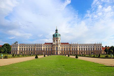 schloss: Charlottenburg palace and garden in Berlin, Germany Editorial