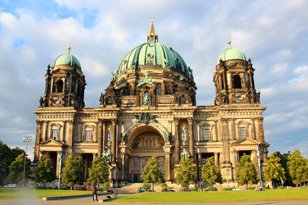 dom: Berlin Cathedral (Berliner Dom), Berlin, Germany Banque d'images