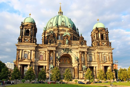 dom: Berlin Cathedral (Berliner Dom), Berlin, Germany Stock Photo
