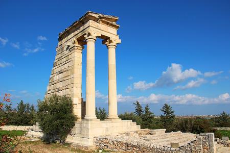 apollo: Temple of Apollo Hylates at Kourion, Limassol, Cyprus