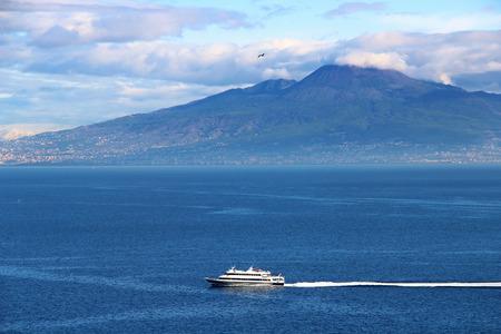 stratovolcano: Mount Vesuvius volcano in the gulf of Naples, Italy