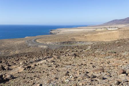 Seashore of Fuerteventura near Morro Jable, Jandia, Canary islands, Spain