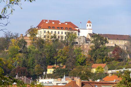 Spilberk Hrad and Brno old town, Czech Republic