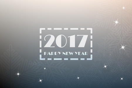 date night: 2017 Happy New Year Background - vector EPS10 Illustration