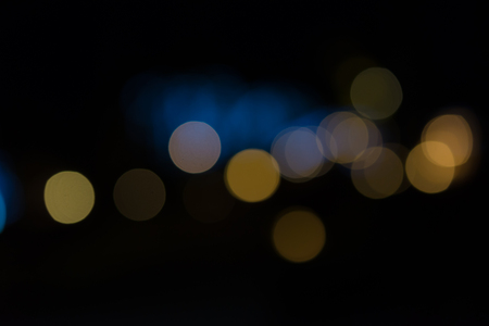 colourful lightings: Colorful abstract bokeh background at the night