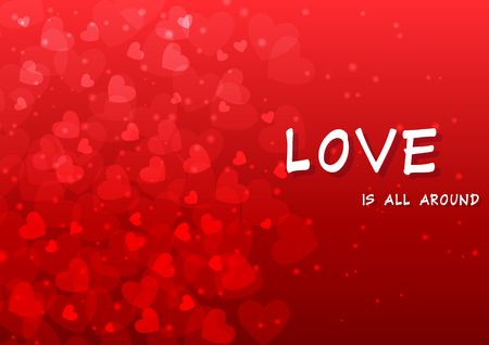 Valentines Day background vector EPS10 Illustration