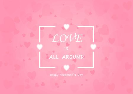Valentines Day background vector EPS10 Illustration
